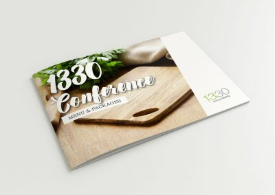 1330 Conference Menu & Packages