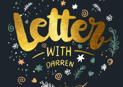 Letter with Darren
