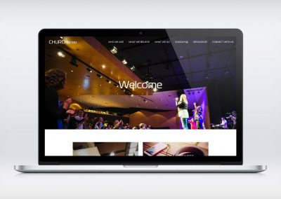 Church at 1330 – Website Refresh
